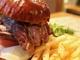 肉好き必見!200g牛ハラミステーキとブルーチーズのハンバーガーが極上だった!-静岡ハンバーガー物語