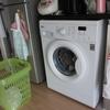 洗濯機は来たけど・・・