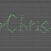 """制作メモ;MIDIで""""Merry Christmas""""と書いて音楽にしてみた"""