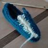 ノールビンドニング - コードループとコードステッチの両方を拾う縫い方 -
