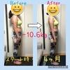 【トータル-10.6kg!】月曜断食ダイエット〜4ヶ月経過〜