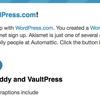 プラグインjetpackを入れた時のメモ。wordpress.com アカウントを作った覚えはないが、、、