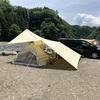子連れデイキャンプ @青野原オートキャンプ場