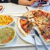 【ドイツ留学記】① ドイツの大学 の 学食 : ピザ、ステーキ、サラダ ジャンクとヘルシーの両極