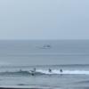 サイズダウン、サーフィン厳しめです。 波情報 湘南鵠沼08/27