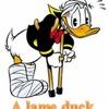 lame duck 死に体 レームダックになった首相