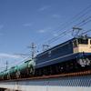 貨物列車撮影 8/25② 全検明けのEF65 2091号機を撮る