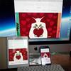 癒しの猫絵画家、山下絵理奈さんのサイトオープン!<北海道のイラストレーター情報>