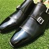 お気に入りのイタリア靴「Santoni(サントーニ)」のダブルモンクストラップシューズをレビュー