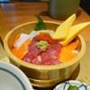 【和食 おひつ屋】海鮮丼をおひつに入れて(イオンモール広島祇園)
