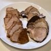 煮豚食べ比べ&トマトグリーンサラダ