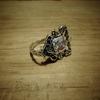 イギリスアンティークスプーンのリメイクリング_0614 forメンズ