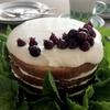 ジューンベリーのネイキッドケーキ