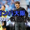 【ガンバ大阪】2020移籍情報/フォーメーション予想(1/31時点)