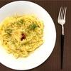 ペペロンチーノをフィットチーネで(ペペロンチーノ フェットチーネ)aglio, olio e peperoncino Fettuccine