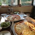 最近食べたピザ、人生ではじめて食べたピザ