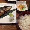 焼き魚に恋しくなって、鯖の塩焼きを食す。串結び ジャカルタ・シティウォーク2階