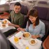 シンガポール航空 エアバスA380を使って機上レストランをオープン!!
