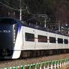 E353系S103編成臨時回送列車運転