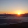 霊峰御嶽山で慰霊登山