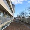 冬休みの学校⑦ 風は強くても冬晴れ
