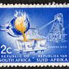 南アフリカ共和国 金の鋳造 2セント