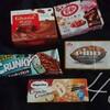 お菓子祭り!夏本番でチョコ商品が少なくなってきて個人的に悲壮
