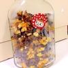 簡単■果実とナッツのハチミツ&オイル漬けを作ってみた