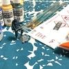 ミニチュア塗装を教わってきた日