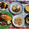 幸運な病のレシピ( 2435 )朝:めざし・サワラ糠漬け、おでん仕立直し、糠漬け
