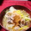 【食事】 昨日の晩ごはん 2017/01/29 味噌バター鍋