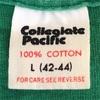 402 ビンテージ カレッジTシャツ 70's80's Collegiate Pacific