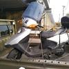 #バイク屋の日常 #ホンダ #スペーシー100 #レッカー #パンク