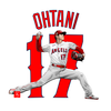 MLBエンゼルス 投手・大谷翔平をエクセルで描いてみた