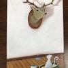 鹿さんと猫