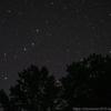 星を眺める夜