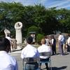 茅野市平和記念式典と緑陰での野点(のだて)