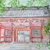 鎌倉妙本寺、二天門