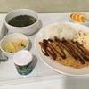 韓国の病院食 今日はとんかつ