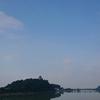 今日の犬山城は…『熱風ぴゅ~~🍃』