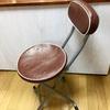 約1,000円DIY:パイプ椅子をリメイクしてビンテージ風ウッドチェア製作!
