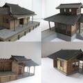 【2017年制作】バスウッドで作った駅舎!昭和のストラクチャーコレクション