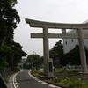 Panasonicのデジカメ「DMC-FZ10」で写真を撮りに鎌倉の由比ヶ浜へ行きました。太陽の周囲に光輪ができる「暈」が出ていました
