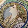 『ミュシャぬりえファンタジー』より「月桂樹」テーマはアールデコ