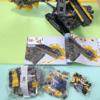 【組み立て終わり】レゴ テクニック「42055バケット掘削機」、7日目。