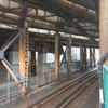 東海道線支線地下化工事南2工区の状況 2018-02-12