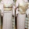 本日ご紹介するお着物は、桜貝のような優しい桜色の色無地です。