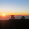 【ハワイ島・絶景の夕日】標高は4205mのマウナケアでのサンセット★☆
