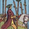 タロットカード:小アルカナ ワンドの6