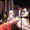 新宿散歩 with一眼レフ①♪♪ 大ガード交差点の夜景☆